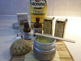 Крем натуральный питательный, от растяжек, скраб, масло для кожи
