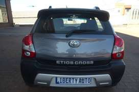 2016 Toyota Etios CROSS 1.5 Hatch 90,000km Cloth Seats, M LIBERTY AUTO