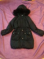 Очень тёплая зимняя куртка пуховик gap