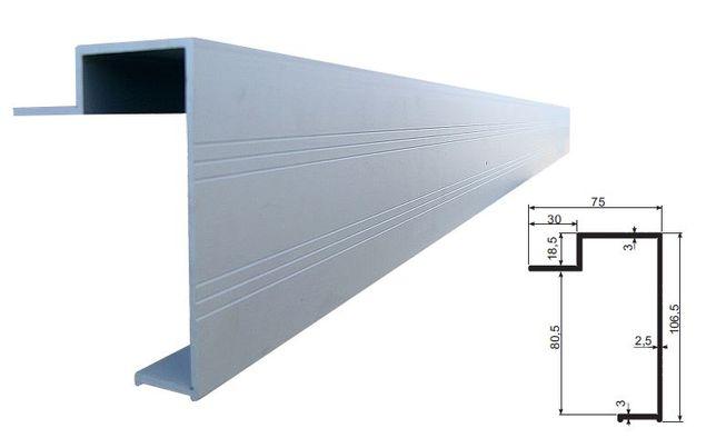 Obrzeże skrzyni załadunkowej zabudowy profil aluminiowy Kutno - image 1
