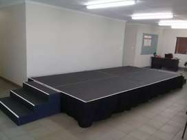 Stage for hire/ sale.