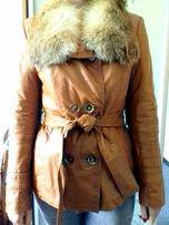 кожаная куртка женская срочно