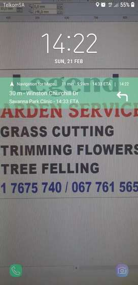 Garden service and Tree felling
