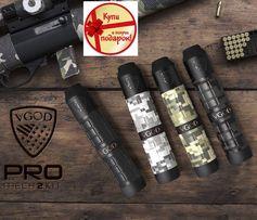 Электронная сигарета мехмод вейп Vgod Pro 2 Mech kit + RDA 24мм Clone