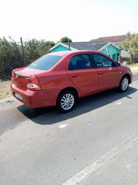 Toyota etios sedan 2017model very low km