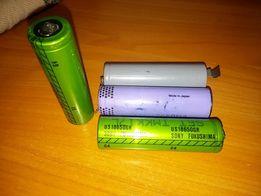 Оригинальные аккумуляторы li-ion формата 18650 3.7v + зарядка