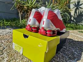 Nike Red BB4 Shox for sale size uk7