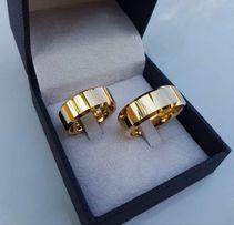 Piękna Lśniąca Para Złotych Obrączek Ślubnych 8MM