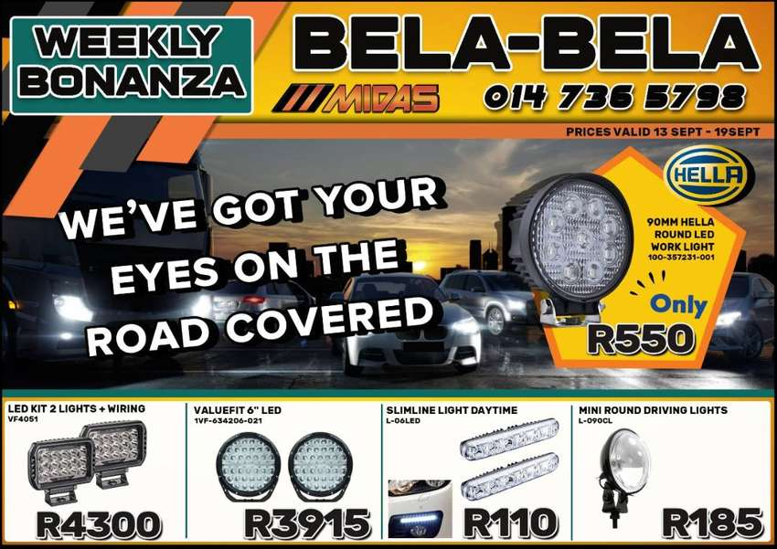 We've got your eyes on the road covered with these amazing deals!