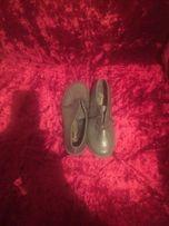 Туфли на шнурках серые 33 раз