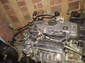 Peugeot 206 1.4 complete engine and gearbox