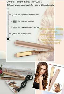 Hair Straighter / Curler