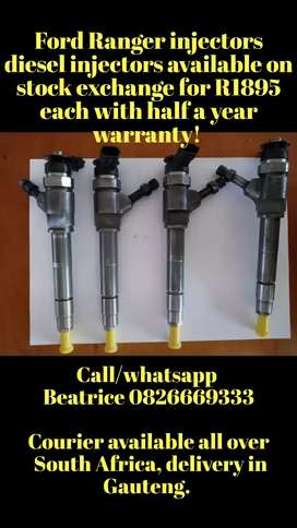 Ford Ranger injectors