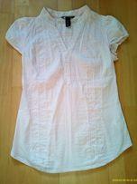 Bluzka ciążowa H&M MAMA 36/38 pudrowy róż