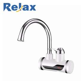 Instant warm water faucet