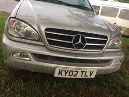 Розборка Шрот Авторозборка ML Запчасти Мерседес МЛ W 163 Mercedes ML