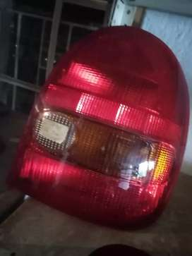 Corsa, older model, tail light