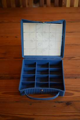 Vintage Slide File Carry Case