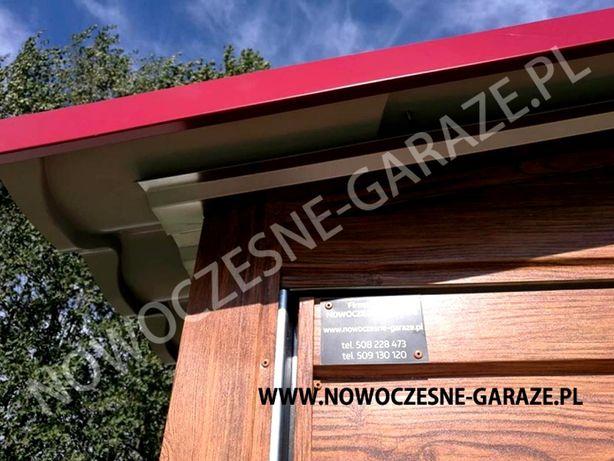 Garaż blaszany drewnopodobny imitacja drewna nowość Wrocław - image 5