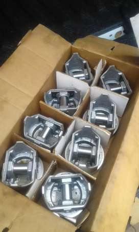 Chev 327 v8 brand new pistons and rings for sale.