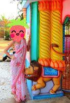 Очень красивое Индийское Сари