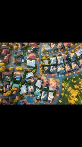 Drone areal footage