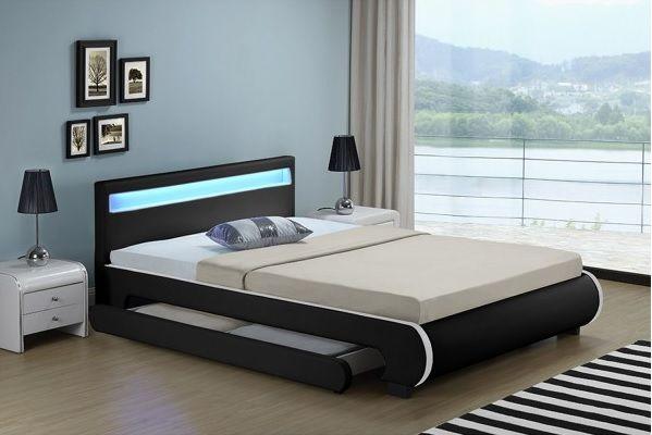 Кровать кожаная Bilbao 180х200 см. с LED подсветкой! Германия! Львов - изображение 8