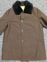 куртка мужская с подкладкой из натуральной овчины р. 52