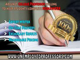 SWAMPED? HIRE THE UNEMPLOYED PROFS!