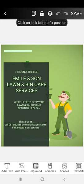 LAWN AND BIN CARE SERVICES