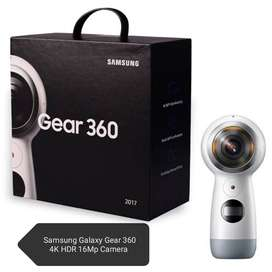 Samsung Galaxy Gear 360 4K HDR 16Mp Camera New