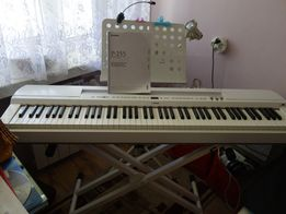 Pianino cyfrowe Yamaha P-255-białe,na gwarancji.