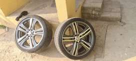 "4 ""17"" inch rims and tyres"