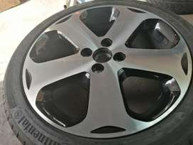 Swop for spare rim and cash difference