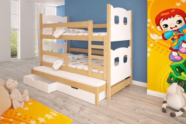 Meble dla dzieci. Łóżko piętrowe 3-osobowe! Dostawa GRATIS ! Gdańsk - image 5
