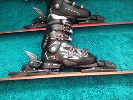 Sprzedam narty marki Head i buty narciarskie Dalbollo.
