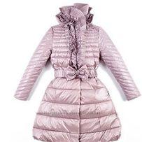 Пуховик зимнее пальто Италия Via Lattea рост 146 +6