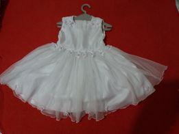 Sukienka do chrztu 62-68cm