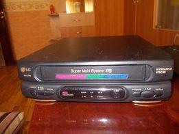 Видеомагнитофон LG кассетный VHS