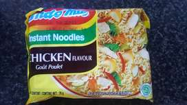indomie chicken noodles  box