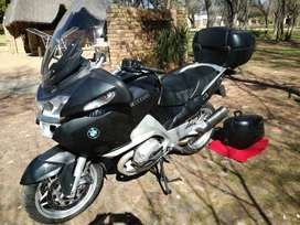 BMW RT2000, 2006 model includes BMW panniers