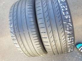 225/45/ R18 Continental ContiSportContact Run Flat Tyres