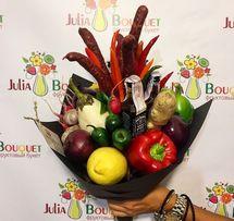 фруктовый и овощной букет