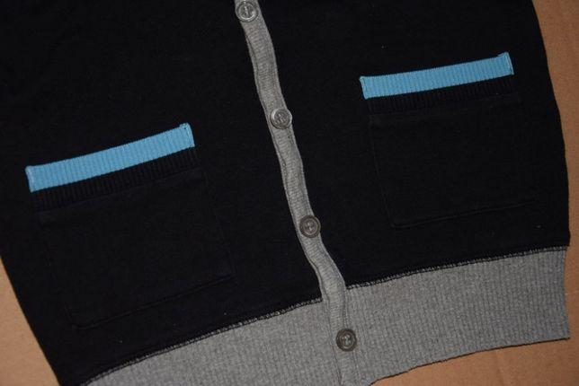 104 sweter swetr Next bluza jak kardigan dzianinowy kołnierzyk 4 lata Lublin - image 2