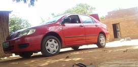 I am selling toyota corrola on good condition contact