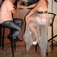 платье нарядное платя персиковое персик