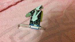 Контроллер STLab RS232 (COM)+LPT (Parallel) каналов: 2+1 PCI (I-420)