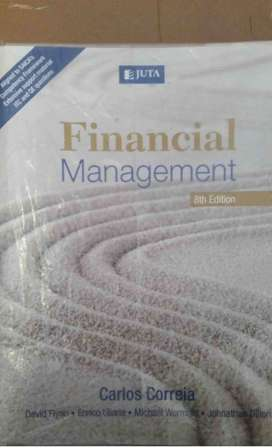 Financial Management - Carlos Correia Textbook for sale 8th ed.