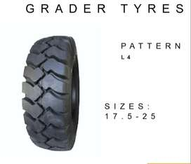 Grader Tyres , Dump Truck , Bobcats and Crane Tyres For Sale