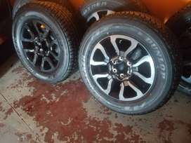 Toyota Legend 50 original mags and tyres available now